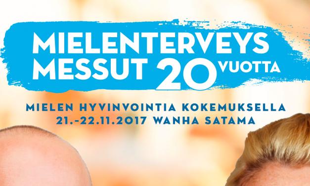 Suomen Trauma- ja dissosiaatioyhdistys Disso ry on mukana Mielenterveysmessuilla