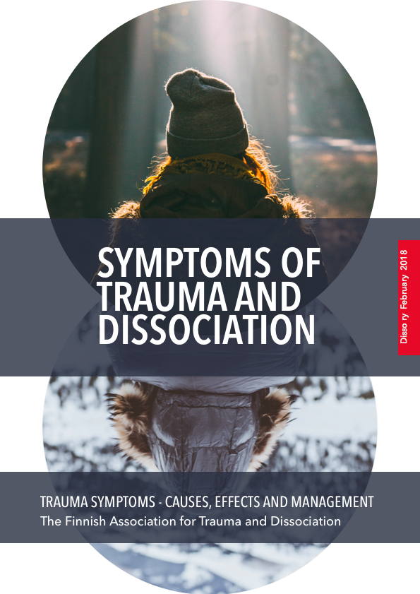 Symptoms of trauma and dissociation in english